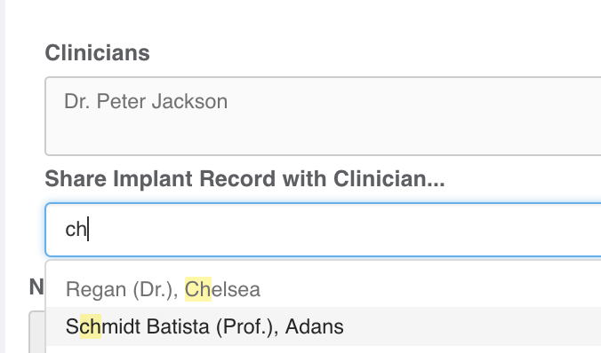 NEW Release: Share Patient Records